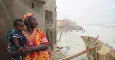 Érosion Côtière : la ville de Saint-Louis menacée de disparition