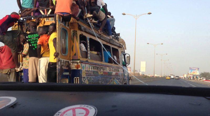 A Dakar, l'archi anarchique