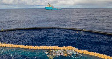 PACIFIQUE: «THE OCEAN CLEANUP» COLLECTE DU PLASTIQUE POUR LA PREMIÈRE FOIS