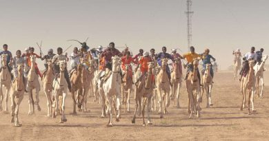 LA GRANDE COURSE DE CHAMEAUX D'INGALL, AU NIGER